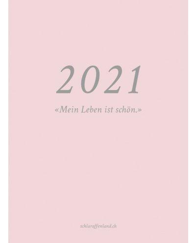 Agenda  Kalender Tagebuch 2021, rosa