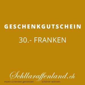 Geschenk-Gutschein 30.-