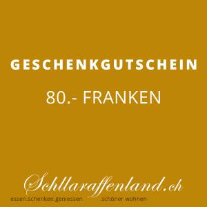 Geschenk-Gutschein 80.-