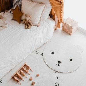 Waschbarer Kinderteppich Bär