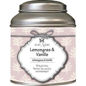 Lemongras und Vanille Tee
