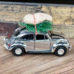 Weihnachtsauto goldig