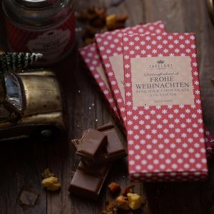 Mini Schokolade Frohe Weihnachten