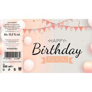 Secco Geburtstag