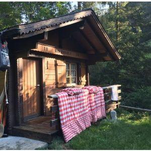 2 Übernachtungen im Waldhüsli für 2 Personen 300.-