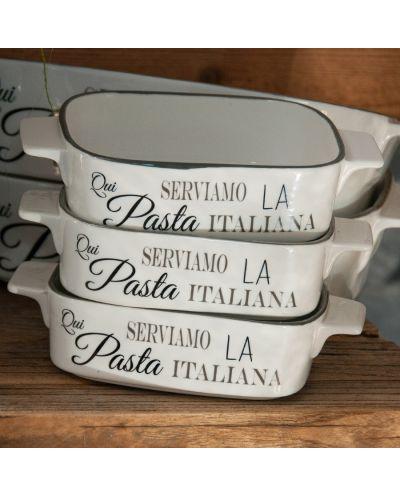 Auflaufform Serviamo la pasta