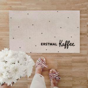 Waschbare Fussmatte erstmal Kaffee kleine