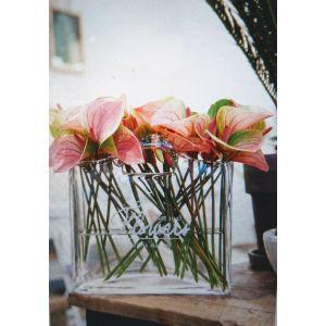 Flowers bag vase