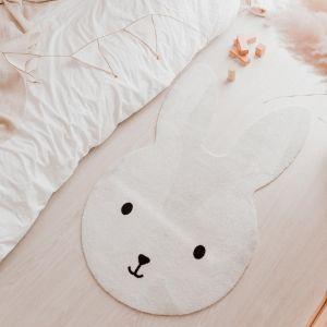Waschbarer Kinderteppich Hase