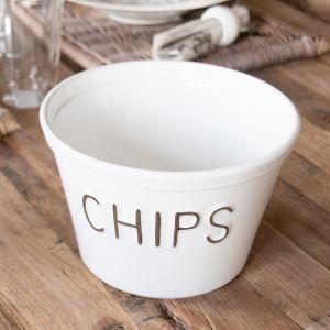 Pommes Chips Schüssel
