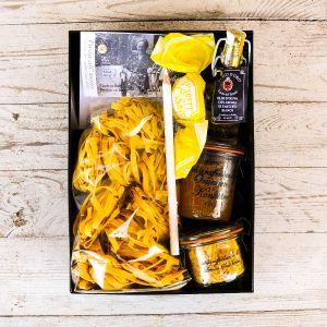 Geschenkbox Gelb