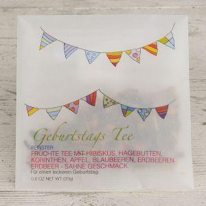 Geburtstag Tee