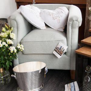 Cutler Park Club Chair, polyester linen, moss